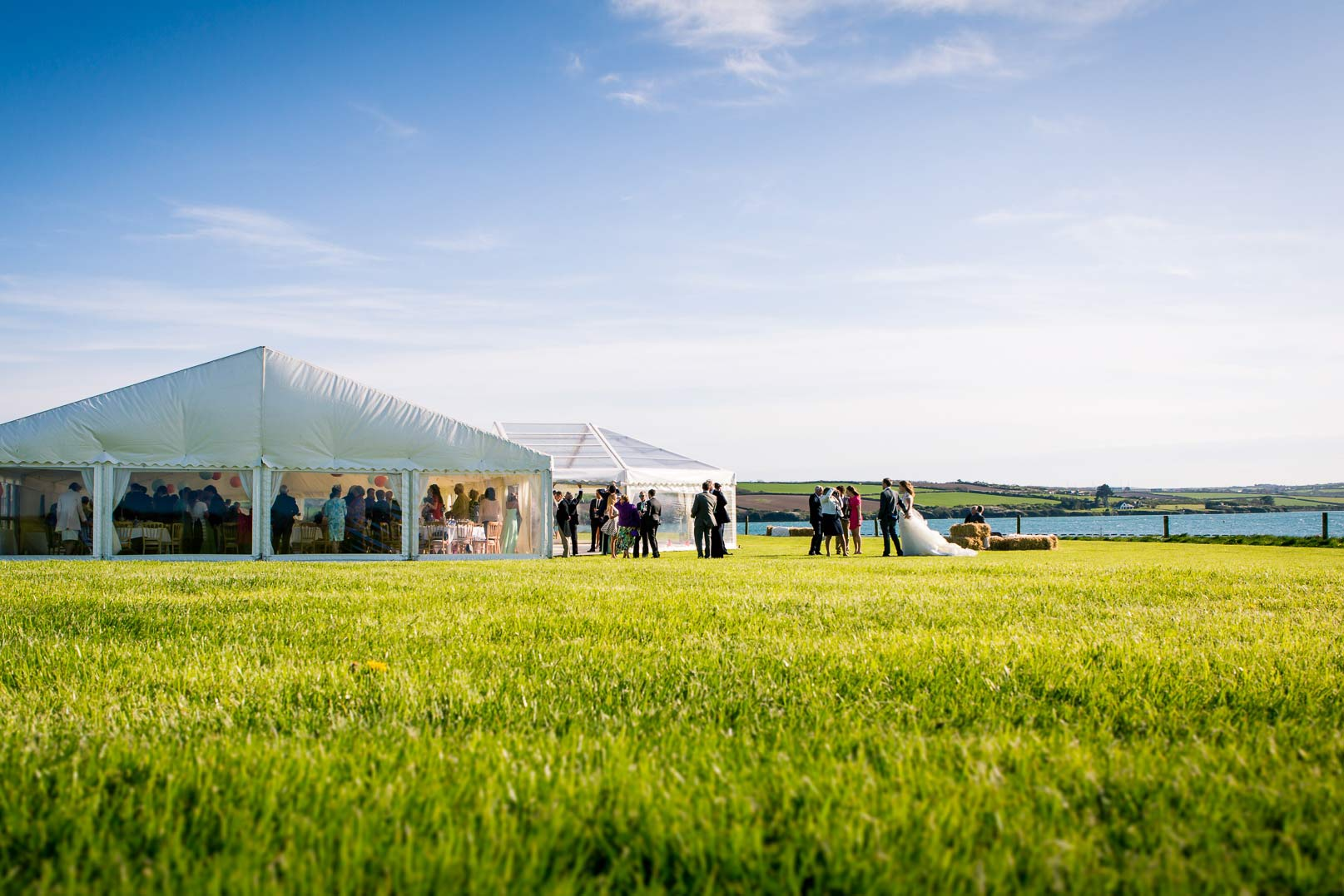 Beautiful Wedding Marquee